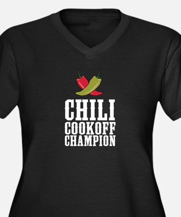 Chili Cookoff Champion Plus Size T-Shirt