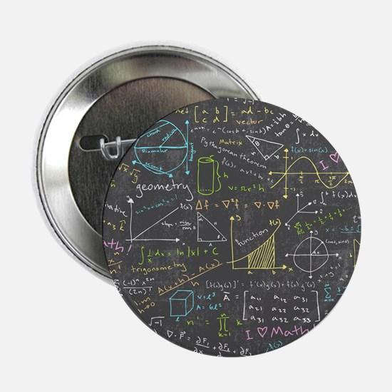 """Math Lessons 2.25"""" Button (10 pack)"""