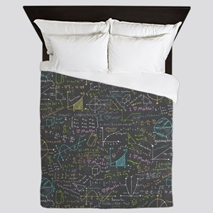 Math Lessons Queen Duvet