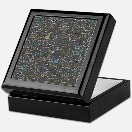 Math Lessons Keepsake Box