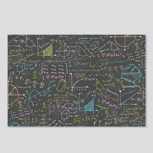 Math Lessons Postcards (Package of 8)