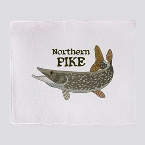 Northern Pike Throw Blanket