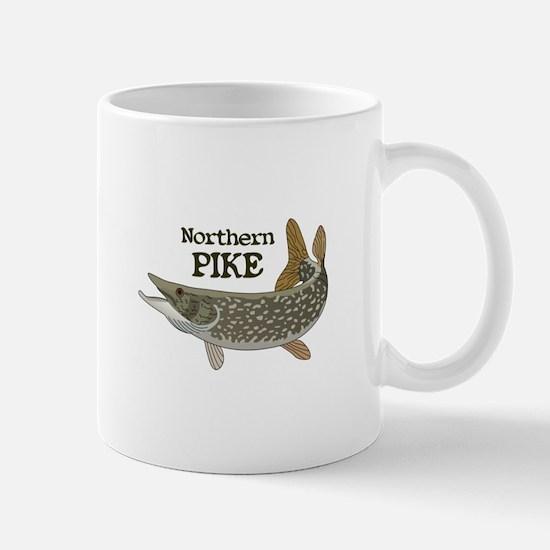 Northern Pike Mugs
