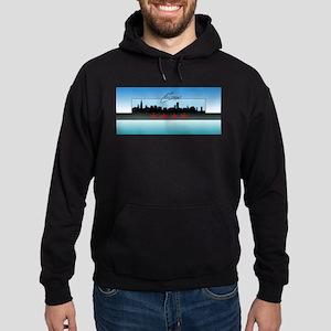 Chicago Skyline Hoodie (dark)