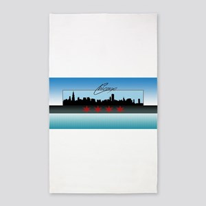 Chicago Skyline Area Rug