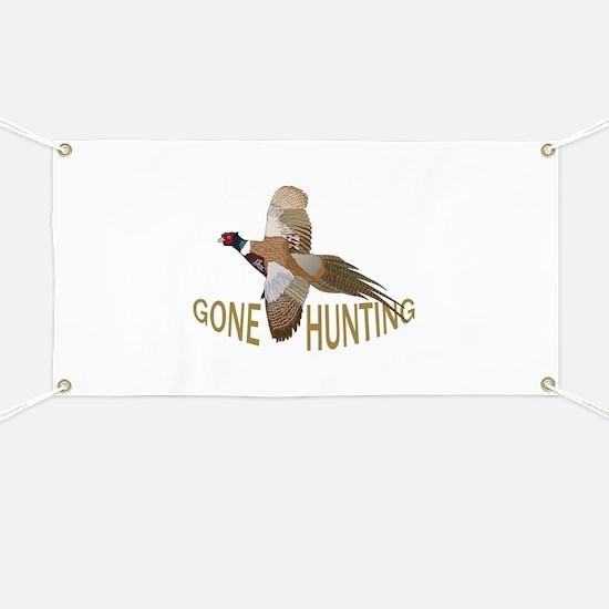 Gone Hunting Banner