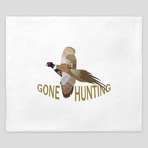 Gone Hunting King Duvet