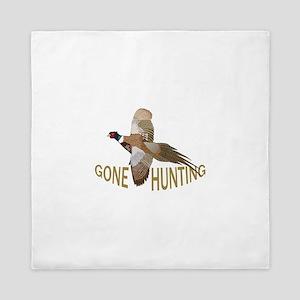 Gone Hunting Queen Duvet