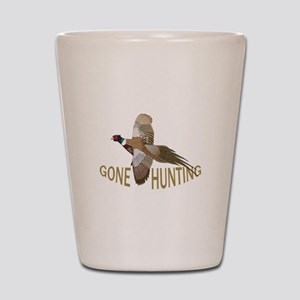 Gone Hunting Shot Glass