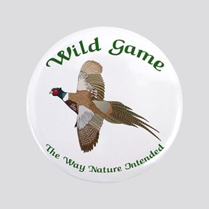 "Wild Game 3.5"" Button"