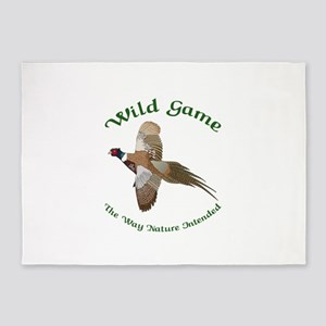 Wild Game 5'x7'Area Rug