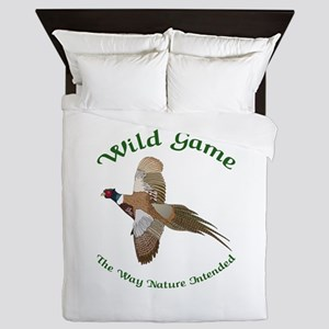 Wild Game Queen Duvet