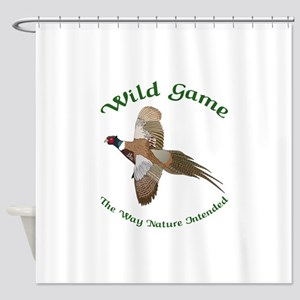 Wild Game Shower Curtain