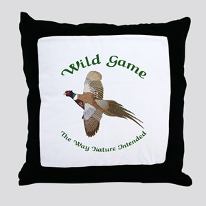 Wild Game Throw Pillow