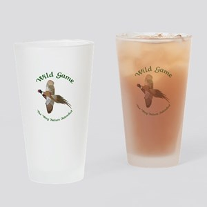 Wild Game Drinking Glass