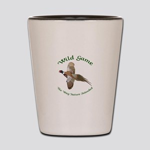 Wild Game Shot Glass