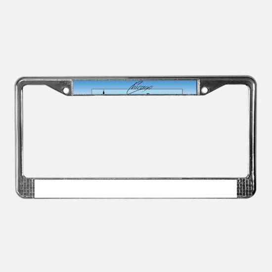 Chicago Skyline License Plate Frame