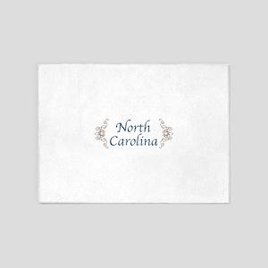 NORTH CAROLINA 5'x7'Area Rug