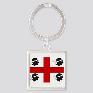 Flag of Sardinia Keychains