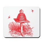 The Hive In Red Mousepad