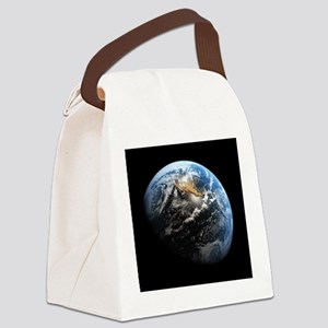 Planet Earth Canvas Lunch Bag