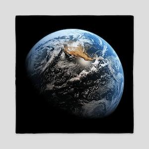 Planet Earth Queen Duvet
