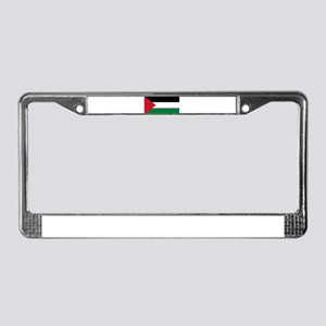 Palestinian flag License Plate Frame