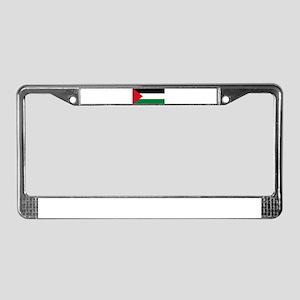 Palestinian flag License Plate Frame