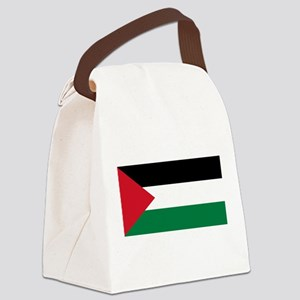 Palestinian flag Canvas Lunch Bag