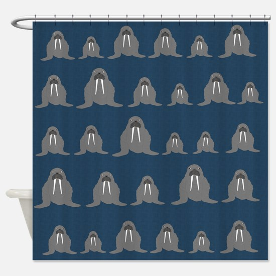 Walrus Shower Curtain