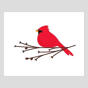 Cardinal Bird Branch Posters