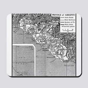 Province of Agrigento Mousepad