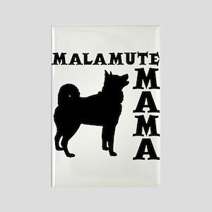 MALAMUTE MAMA Rectangle Magnet