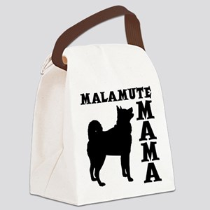 MALAMUTE MAMA Canvas Lunch Bag