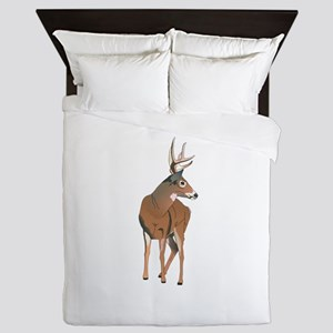 WHITETAIL DEER Queen Duvet