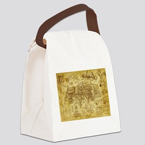 car 1775 Canvas Lunch Bag