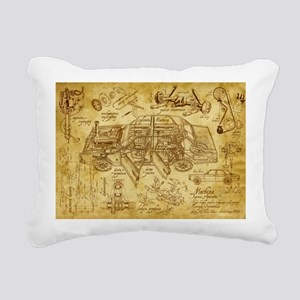 car 1775 Rectangular Canvas Pillow