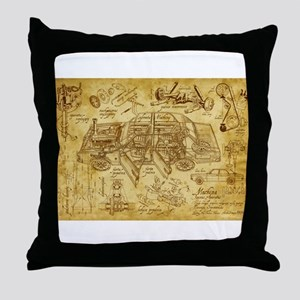 car 1775 Throw Pillow