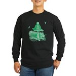 The Hive in Green Long Sleeve Dark T-Shirt