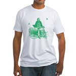 The Hive in Green Fitted T-Shirt