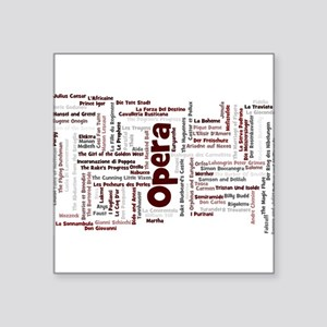 100 Greatest Operas of all time Sticker