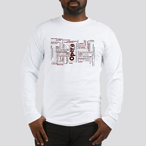 100 Greatest Operas of all tim Long Sleeve T-Shirt