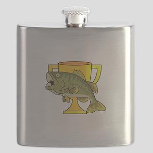 TROPHY BASS Flask