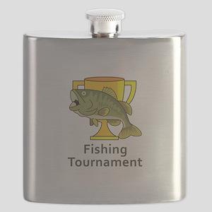 BASS TOURNAMENT FISHING Flask