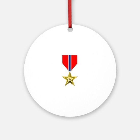 BRONZE STAR MEDAL Ornament (Round)