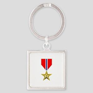 BRONZE STAR MEDAL Keychains
