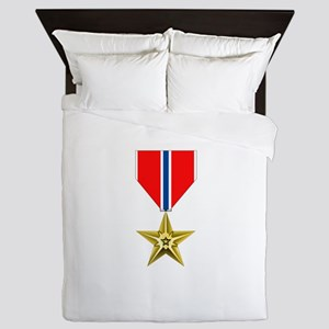 BRONZE STAR MEDAL Queen Duvet