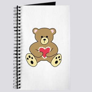 TEDDY BEAR WITH HEART Journal