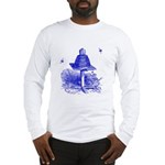 The Hive in Blue Long Sleeve T-Shirt