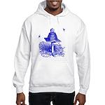 The Hive in Blue Hooded Sweatshirt